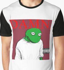 Kermit Lamar - DAMN. cover Graphic T-Shirt