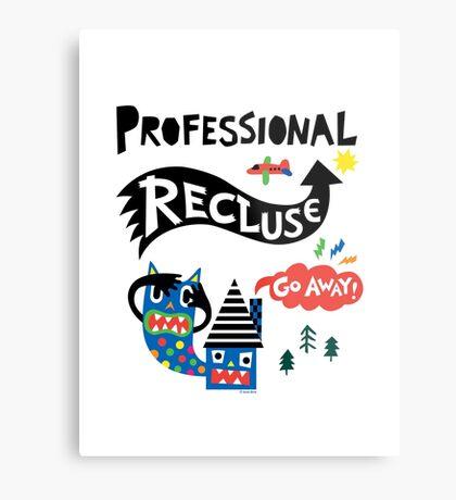 Professional Recluse Metal Print