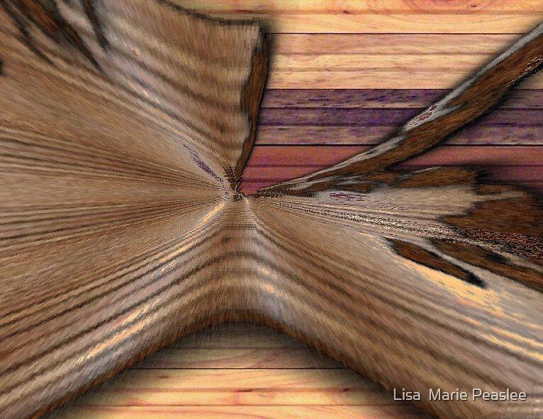 Bent Wood by Lisa  Marie Peaslee