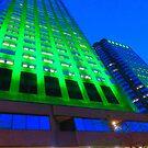 Sky Green by Sandra Fortier