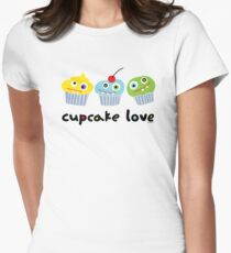 Cupcake Love ll Women's Fitted T-Shirt