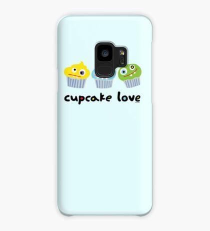 Cupcake Love ll Case/Skin for Samsung Galaxy
