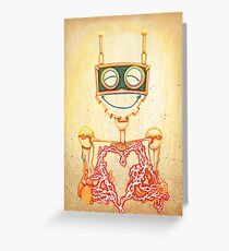 Circuit Breaker; Electric Love Greeting Card