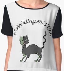 Schrodinger's Cat Chiffon Top