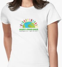 Peoples Climate March - April 29, 2017 - Washington DC Womens Fitted T-Shirt