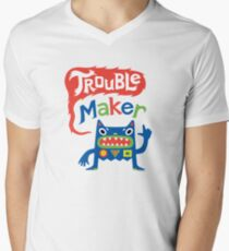 Trouble Maker  Mens V-Neck T-Shirt