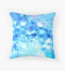 Ice Macro I Throw Pillow