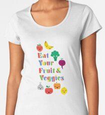 Eat Your Fruit & Veggies lll Women's Premium T-Shirt