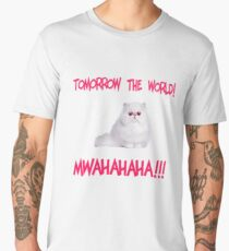 Mwahahaha - cute kitten Men's Premium T-Shirt