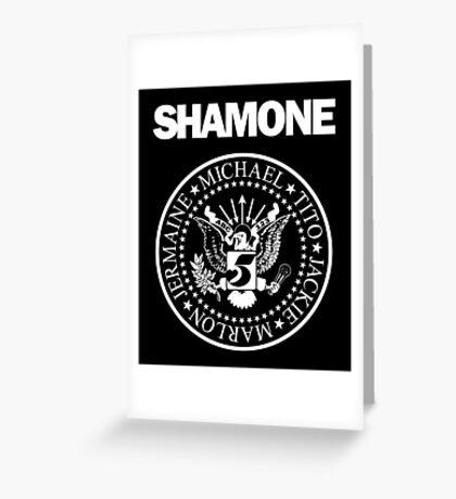 Shamone (Sticker) Greeting Card