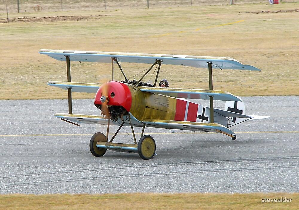 Fokker Dr.1 by stevealder
