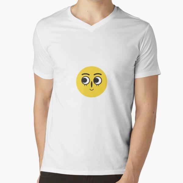 :-) V-Neck T-Shirt