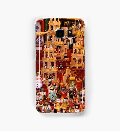 Wooden Xmas crafts Samsung Galaxy Case/Skin