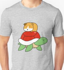 Red Shelled Turtle and Guinea Pig Unisex T-Shirt