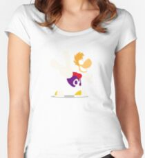 Rayman Women's Fitted Scoop T-Shirt