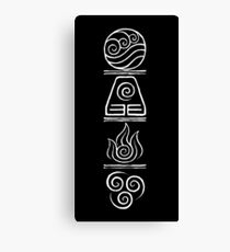Avatar- The Four Elements Canvas Print