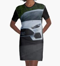 Ford Focus RS Moving Graphic T-Shirt Dress