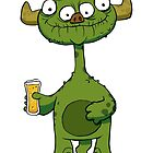 Gose Beer Monster by striffle