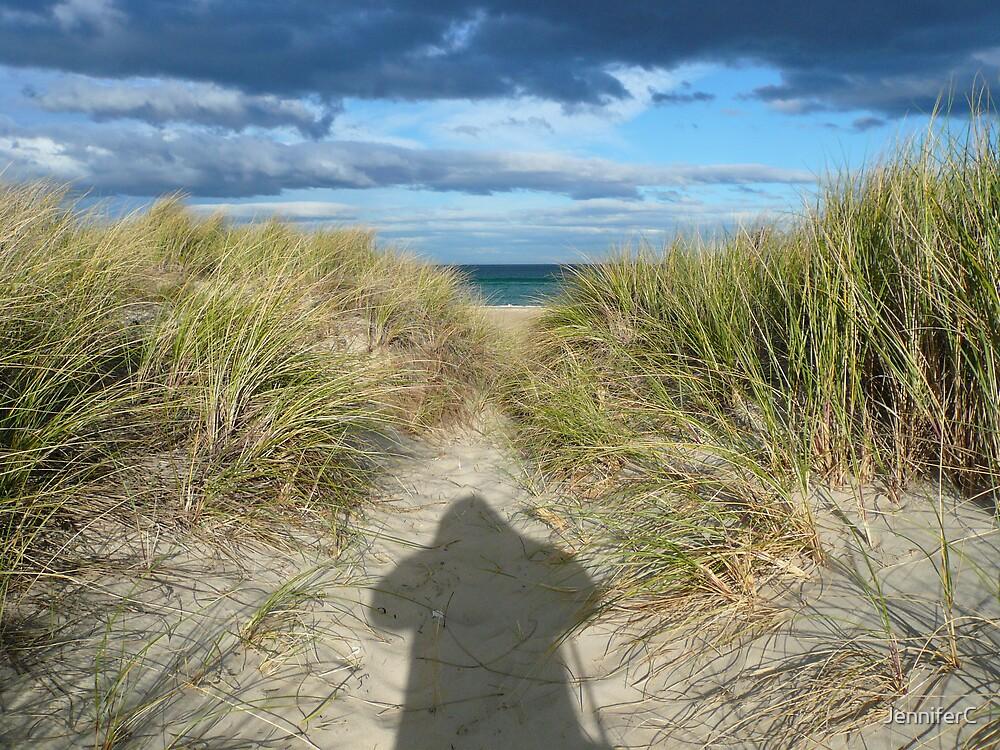 Sand and Shadows by JenniferC
