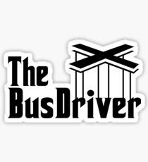 The Bus Driver Sticker