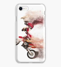 Sandstorm Motocross Biker iPhone Case/Skin