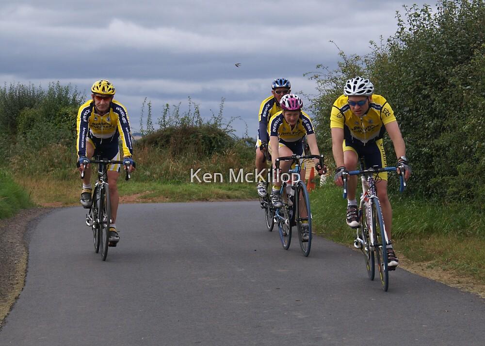 racing hard by Ken McKillop