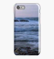 Whispering waves on the beach iPhone Case/Skin