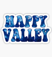Happy Valley Tie Dye Sticker