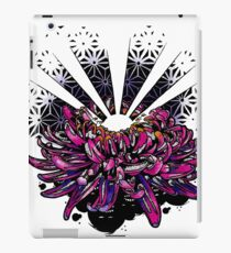 Geometric Chrysanthemum Flower iPad Case/Skin