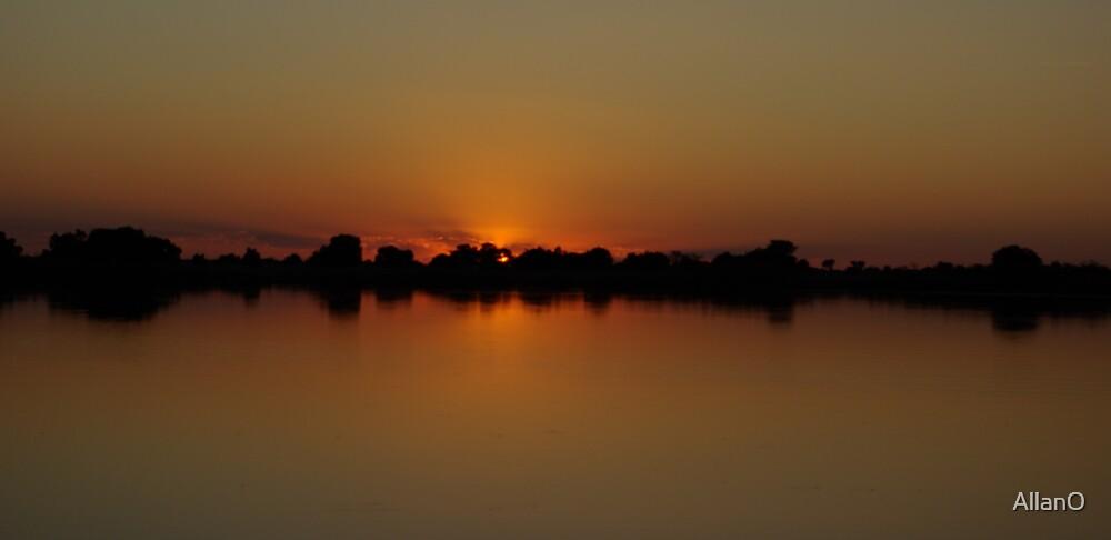 Okavango Sunset 1 by AllanO