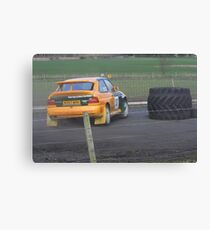 rally Canvas Print