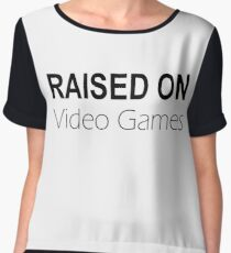 Raised on Video Games Chiffon Top