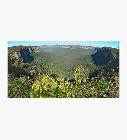 Govets Leap Lookout Photographic Print
