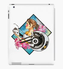 Chell & GLaDOS iPad Case/Skin