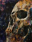 Gold Skull by Michael Creese