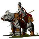 Bear Rider Warrior by zangetsuBankai