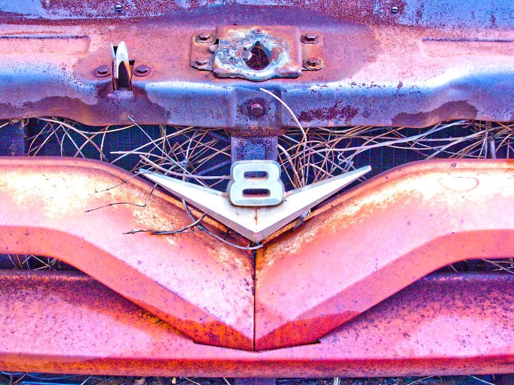 Rusty Truck Series #4 by Rod  Adams