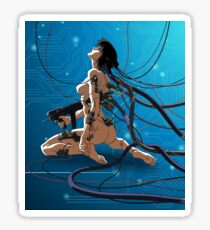 Ghost in a shell Sticker
