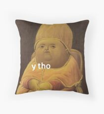 Y THO Throw Pillow