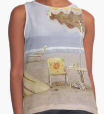 Neil Young On The Beach lp cover Sleeveless Top