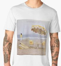 Neil Young On The Beach lp cover Men's Premium T-Shirt