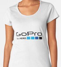 GoPro - Be a Hero Women's Premium T-Shirt