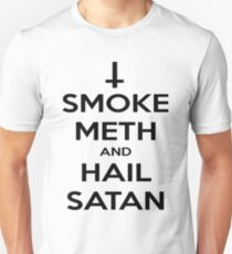 Smoke Meth & Hail Satan T-Shirt