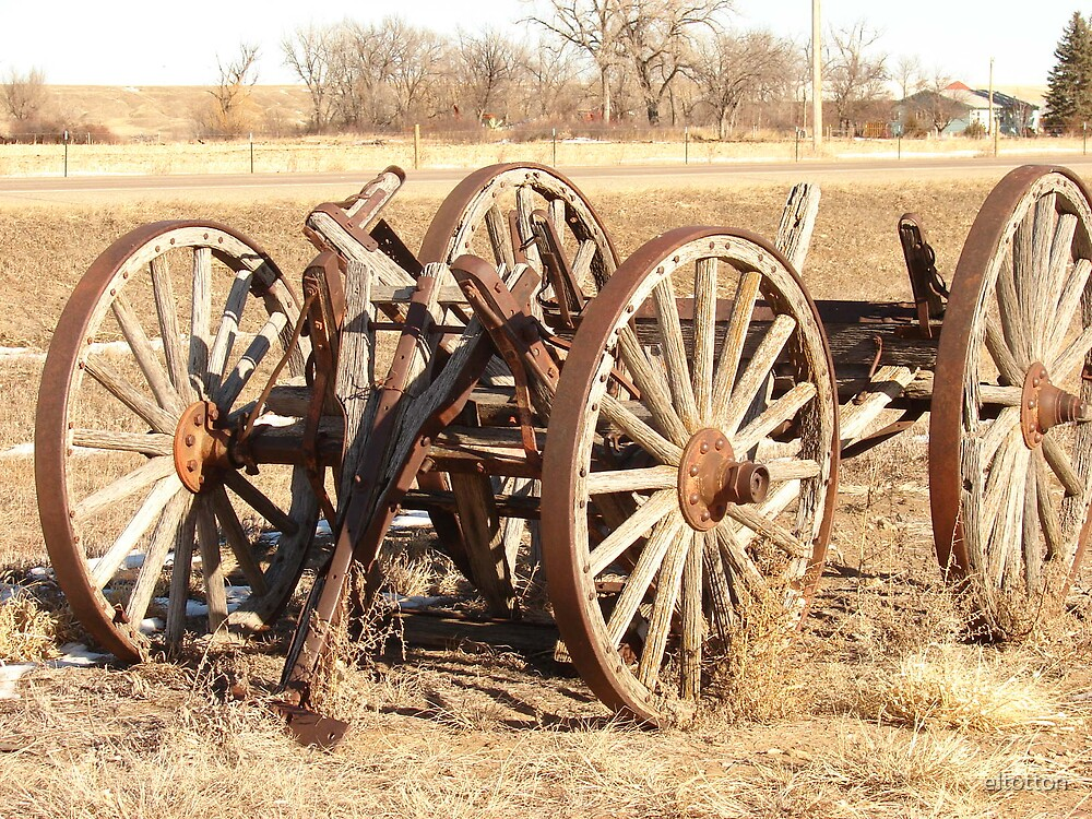 What's Left Of The Wagon. by eltotton