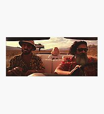 Fear and Loathing Outside of TESDtown Photographic Print