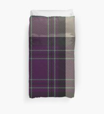 Kyle Grape Tartan  Duvet Cover
