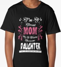 Bestseller - I'm a proud mom of an awesome daughter Long T-Shirt