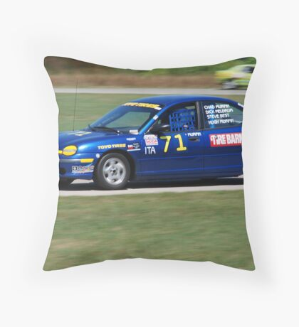Racing  Throw Pillow
