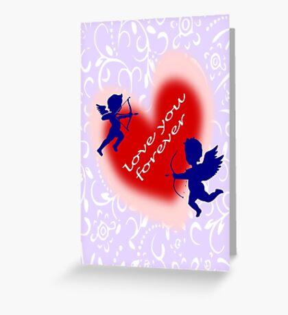 Cupid (935 Views) Greeting Card