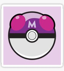 master ball pokeball - pokemon Sticker